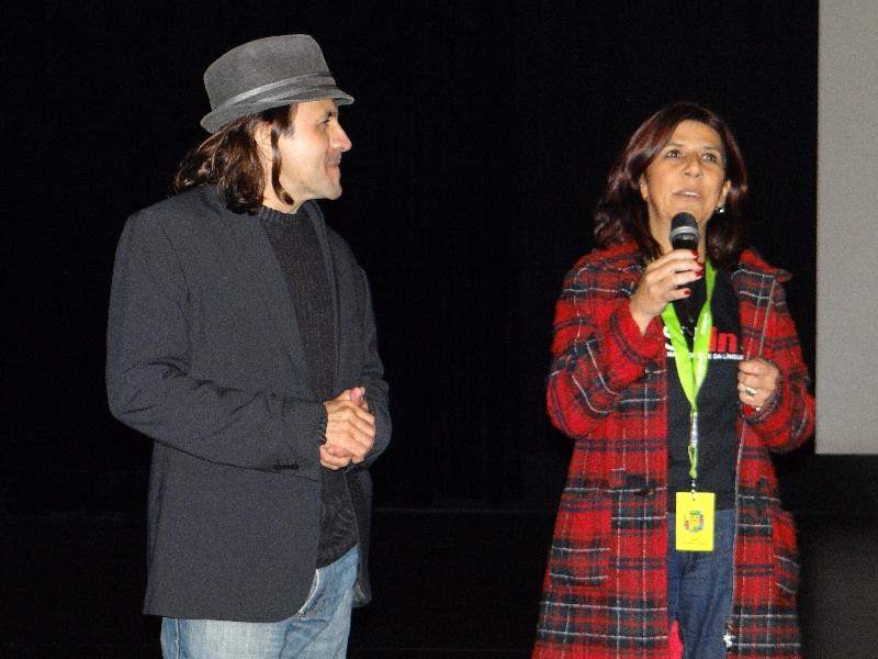 Halder Gomes e Léa Teixeira