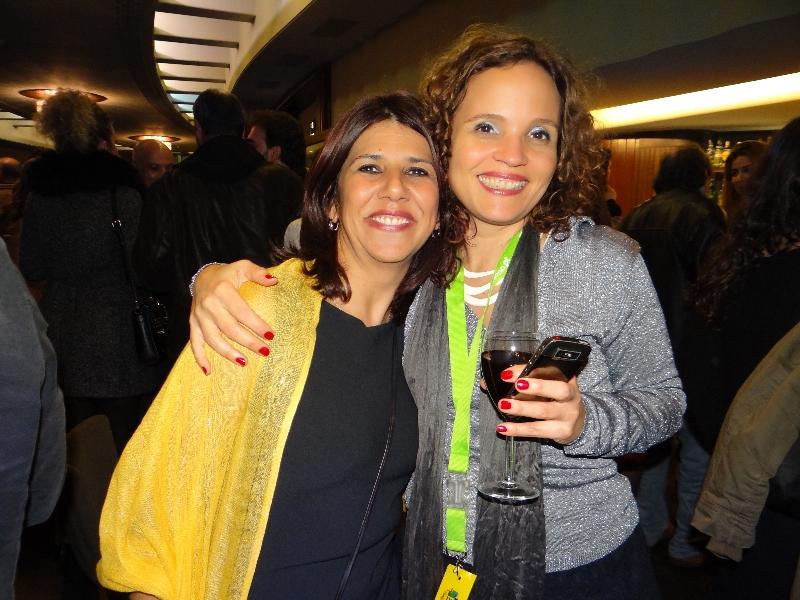 Léa Teixeira e Fernanda Borba