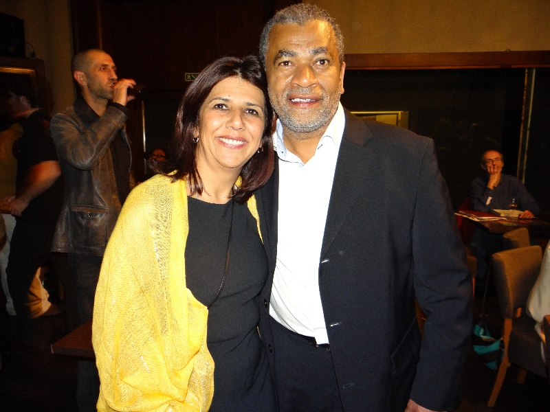 Léa teixeira e Gabriel Baguet Jr.