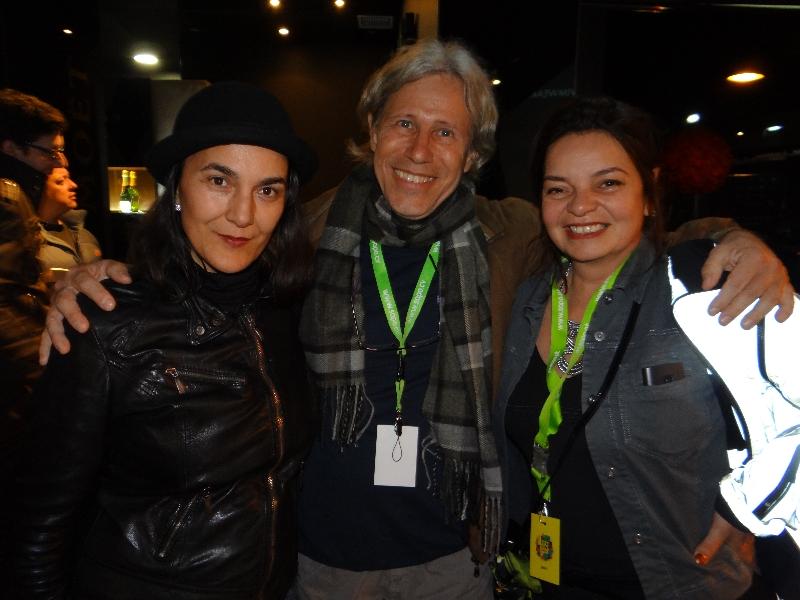 Adelaide Freitas, Cristiano Requião e Adriana Niemeyer