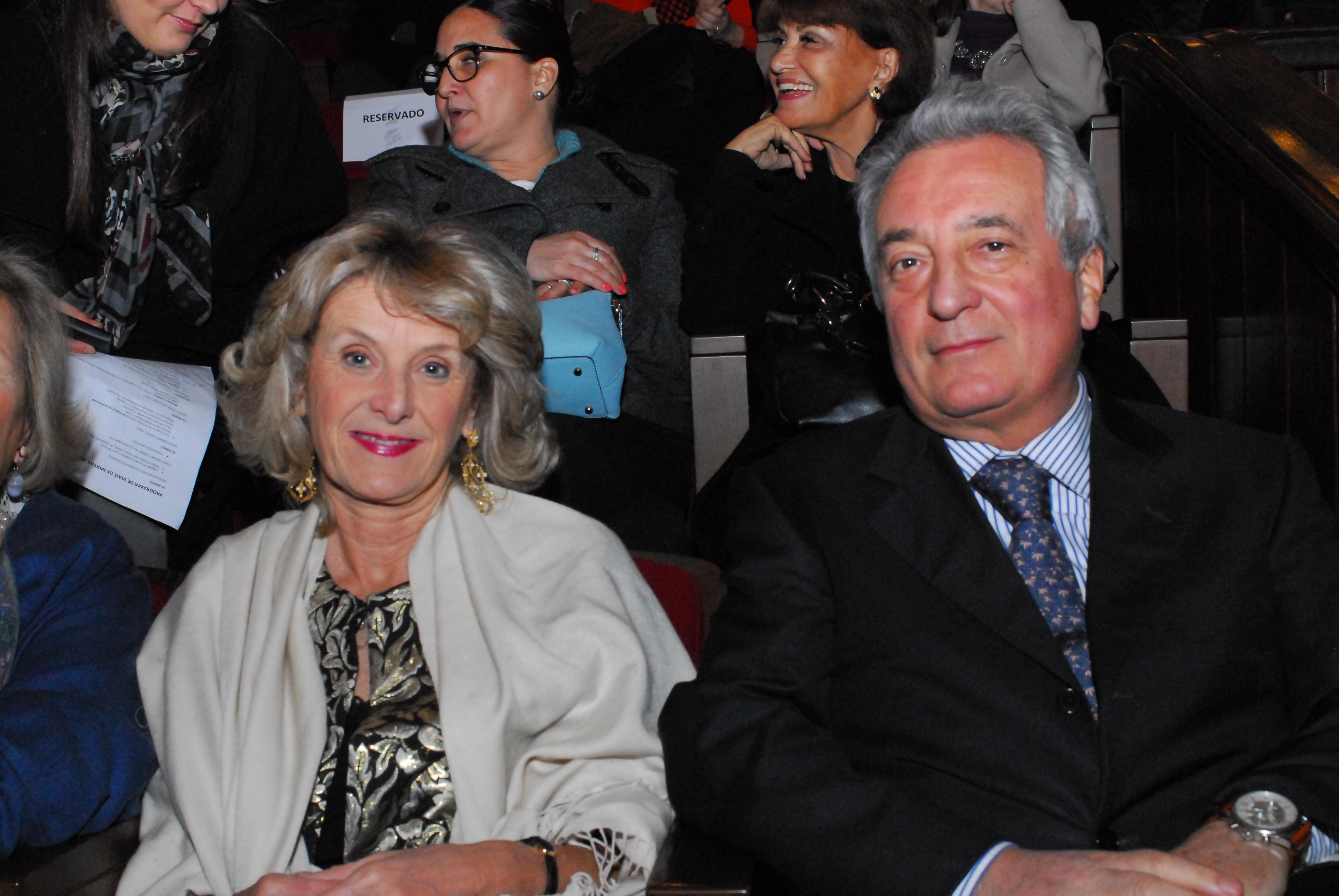 Embaixador da Italia e esposa