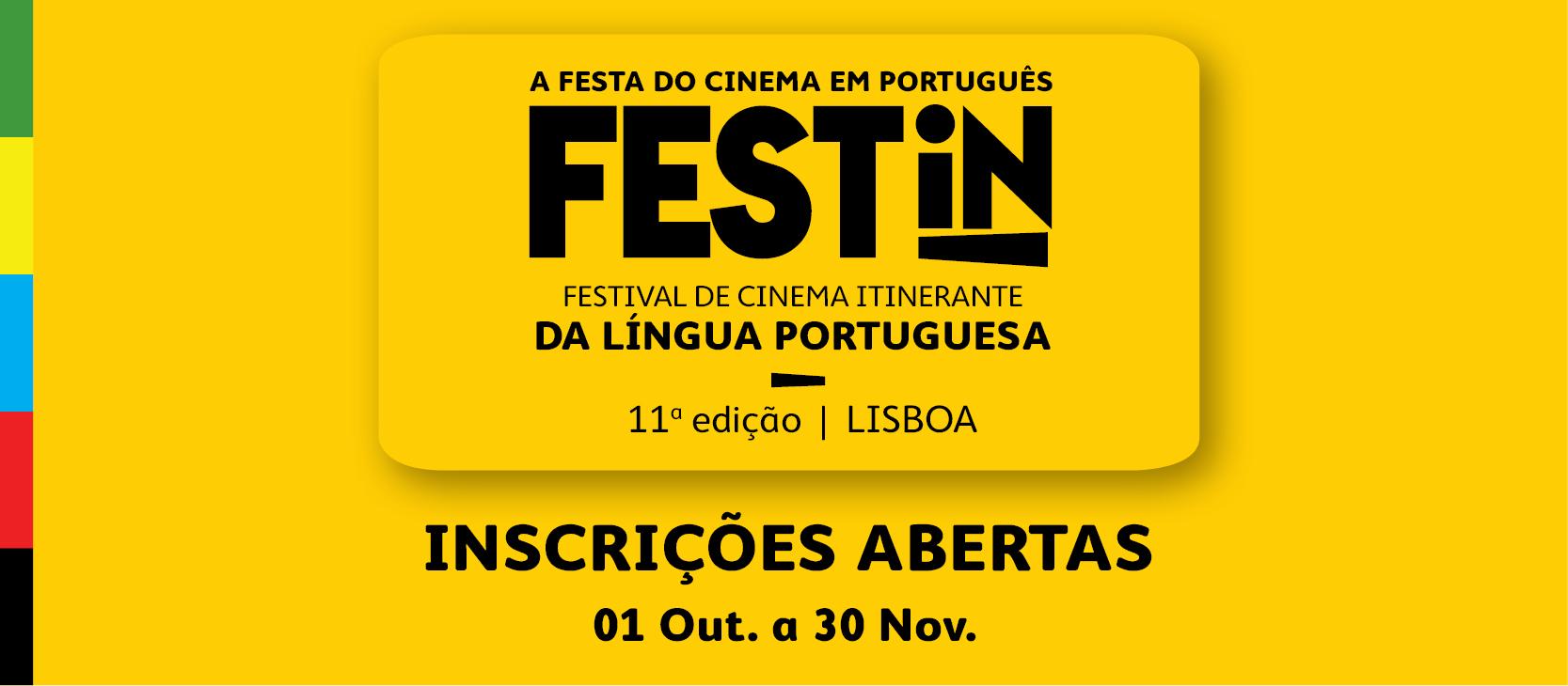 INSCRIÇÕES  ABERTAS  PARA  A  11ª  EDIÇÃO  DO  FESTIN